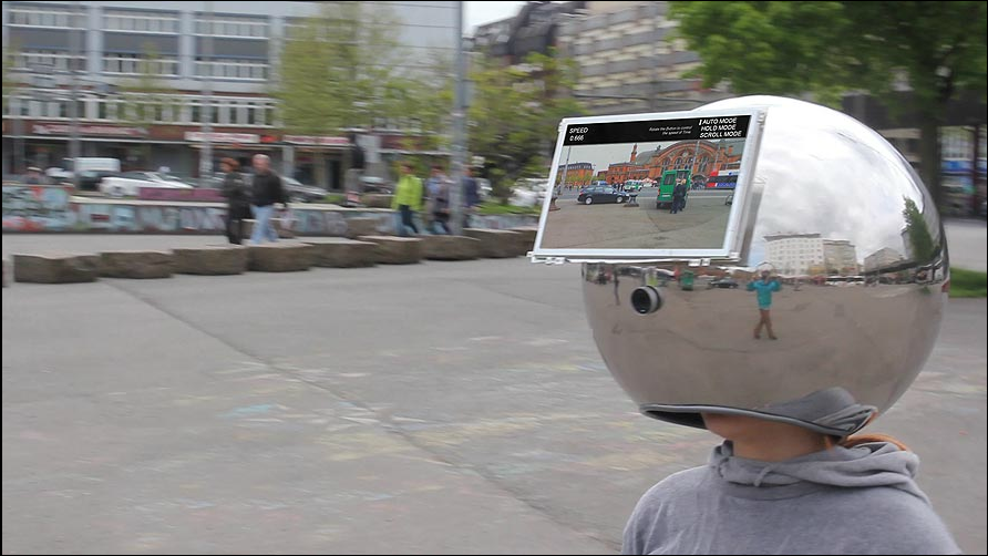 The Decelerator Helmet Slows Real Life to a Standstill