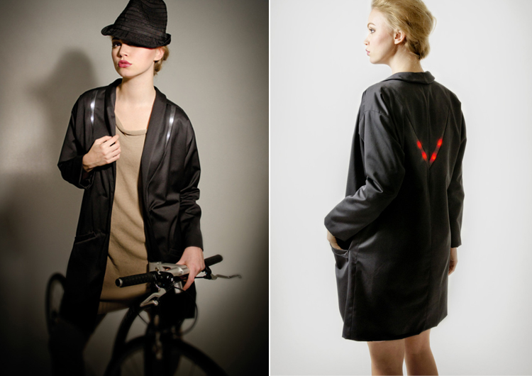 Angella Mackey - Illuminated Clothes for Cyclists