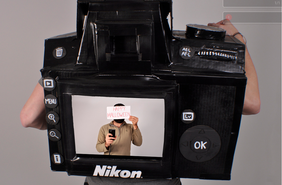 Functional Camera Costume