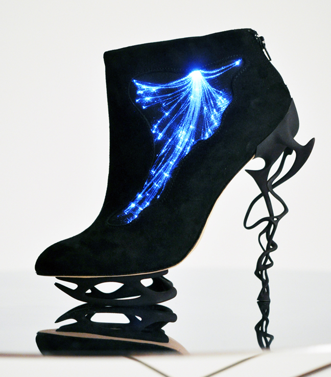 Fiber Optic Illuminated Heels