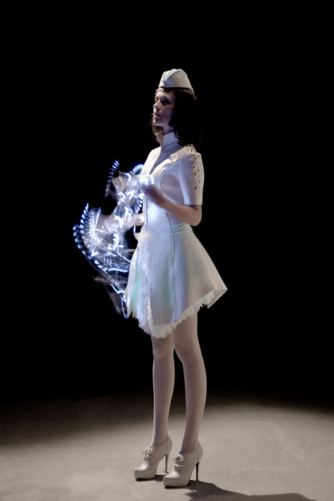 Vega Wang's Bioluminescent Couture