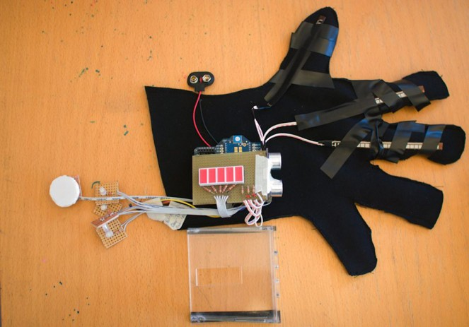 Networked Safety Gloves for Firefighters