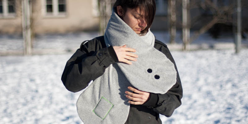 An Assistive Scarf for Visually Impaired