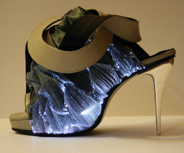 Francesca Castagnacci Illuminated Shoe