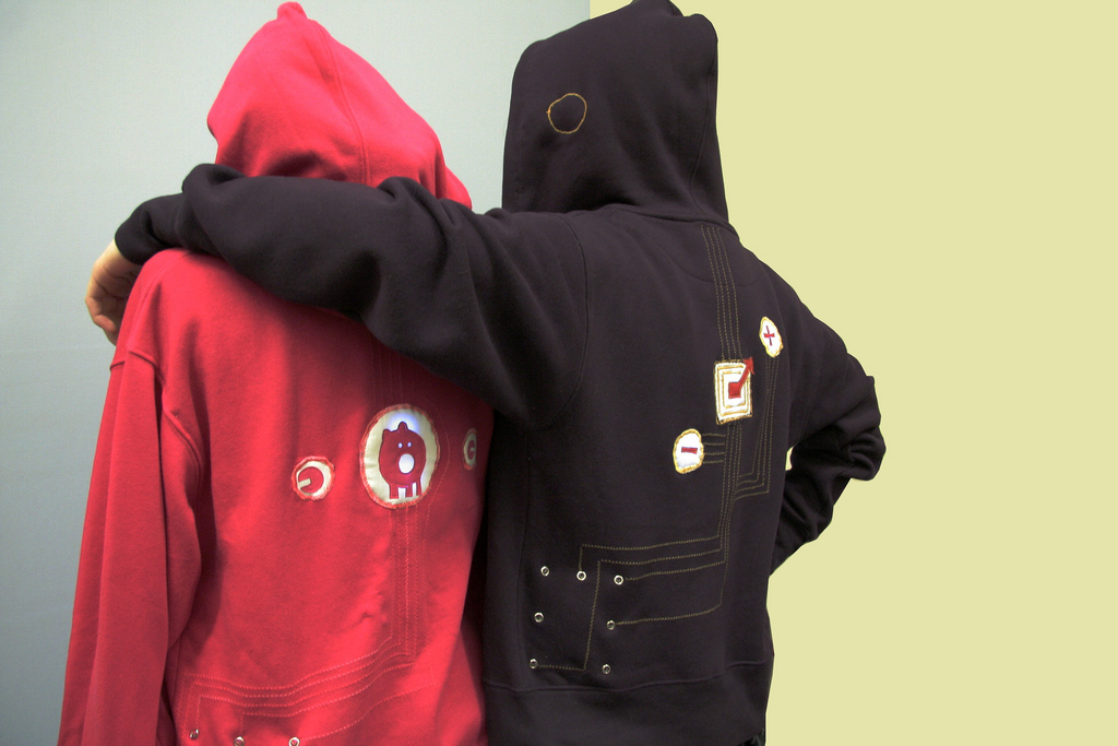 Neighborhoodie—Interactive Gaming Garment