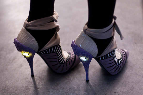 Rodarte's Illuminated Heels