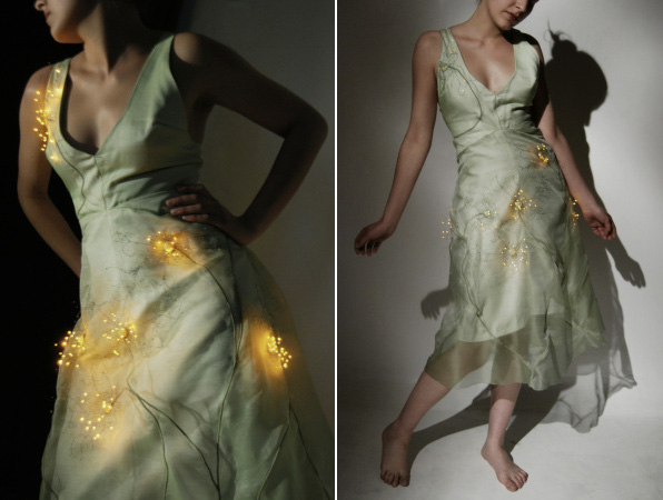 Flare - A Wind-sensitive Electronic Dress