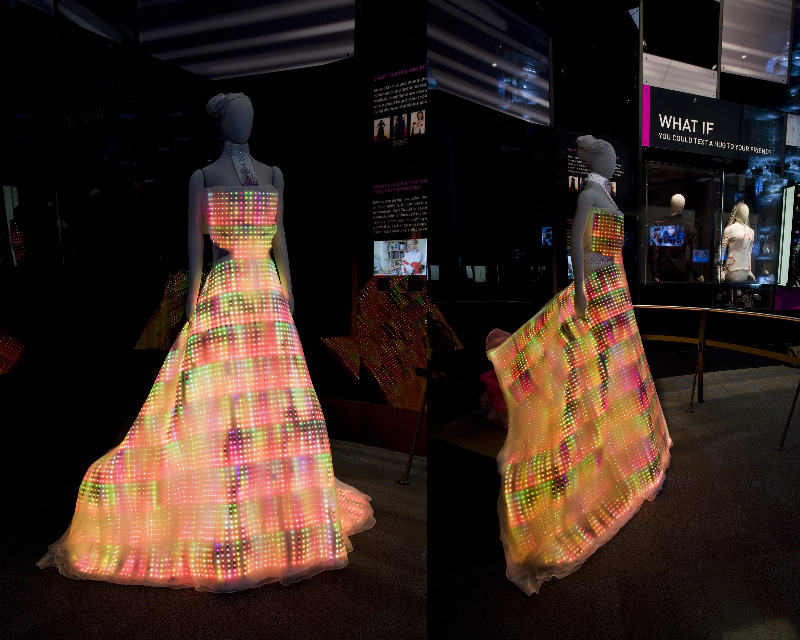 Wearable Technology—Galaxy Dress