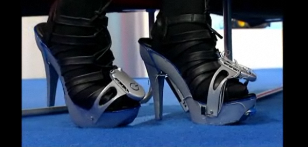 MP3 Player Heels