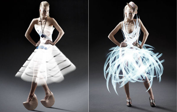 Light Trail Dresses