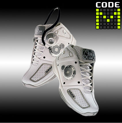 CodeM Mp3 Player Shoe