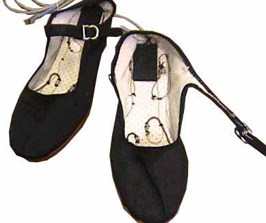 Soft Circuit Music Shoe