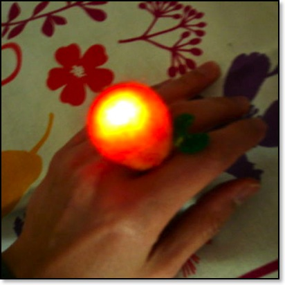 Felted LED Ring